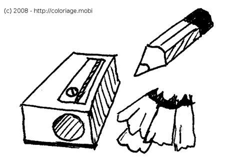 Coloriage Un Taille Crayon