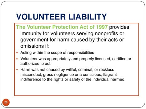 Risk Assessment Protecting Your Organization And Volunteers Volunteer Liability Waiver Template
