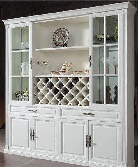 china cabinet with wine rack for the home