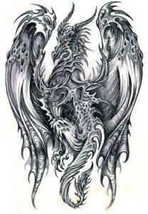 excellent pencil drawings dragons art pinterest