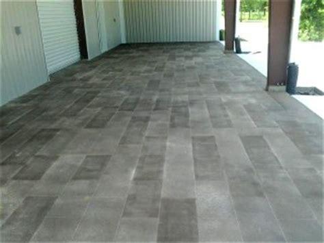 exterior concrete stain pictures
