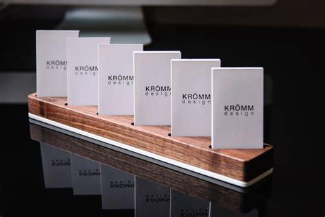 vertical business card holder desk multiple vertical business card display walnut and acrylic