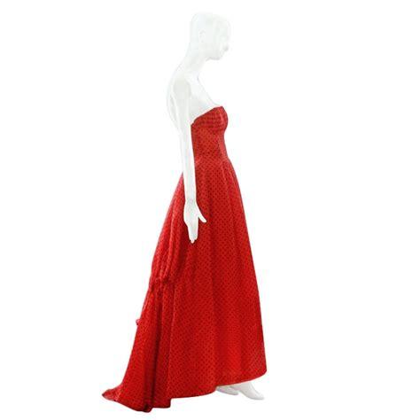 springsummer  christian dior silk ball gown  stdibs