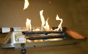 propane burner self installation for fireplaces and fire pits