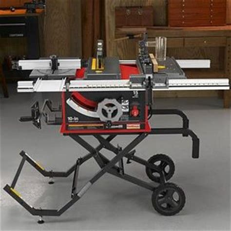 craftsman table saw review craftsman professional 10 inch portable table saw reviews