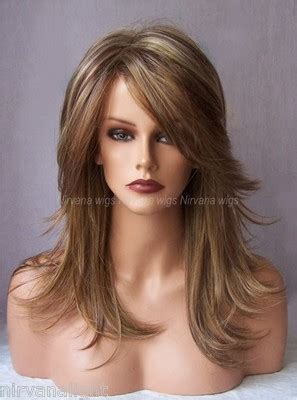 difference between layered and choppy haircuts 3tone auburn strawberry blonde with blonde long choppy