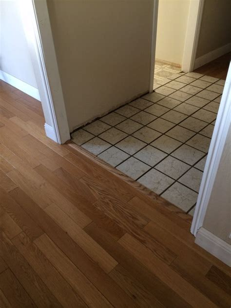 Replacing Kitchen Tile Floor by Tile Or Hardwood For Entry And Kitchen