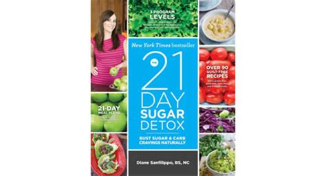 21 Day Sugar Detox Cookbook by The 21 Day Sugar Detox By Diane Sanfilippo