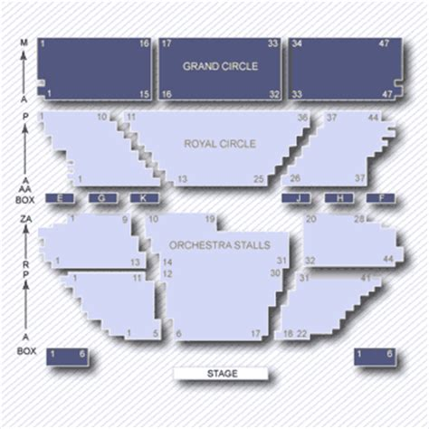 lyceum theatre floor plan lyceum theatre gt information seating plan gt currently