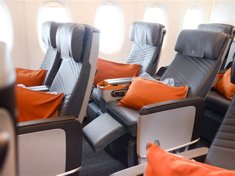 most comfortable economy airline seats singapore airlines premium economy makes a 16 hour flight