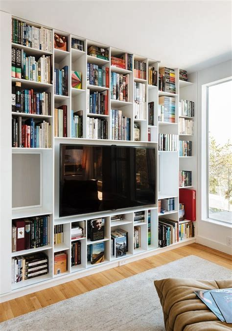 Bookcase With Tv Shelf by 1000 Ideas About Tv Shelving On Shelves
