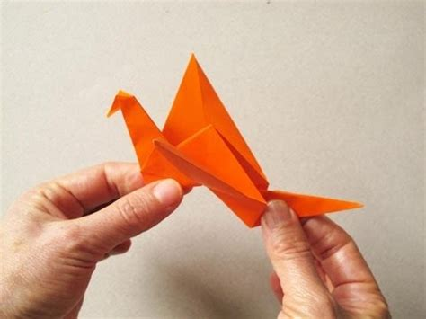 Flappy Bird Origami - origami flapping bird p 225 jaro aleteador