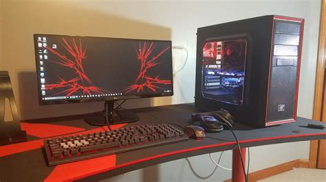 building a gaming desk desk design ideas