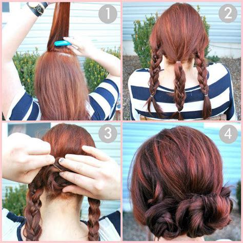 pretty easy hairstyles braids easy bun hairstyle tutorials for the summers top 10