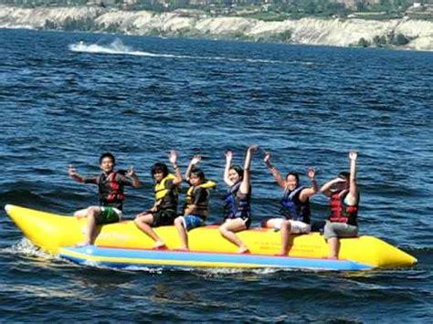 banana boat ride youtube epic banana boat ride fail in penticton bc youtube