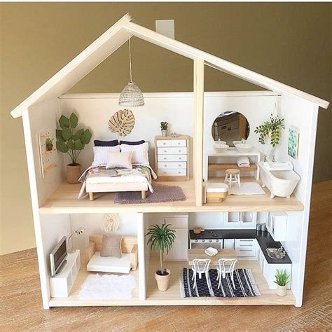 pinterest doll house ikea flisat 29 99 dollhouse wall shelf craft ideas pinterest shelves walls and doll houses