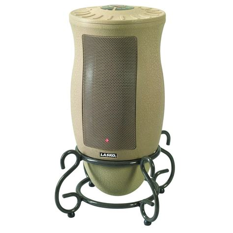 oscillating heater fan home depot lasko 23 in 1 500 watt digital ceramic tower heater with