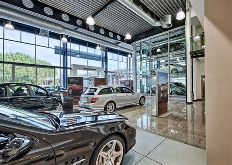 mercedes dealership inside ayshford sansome projects mercedes retail