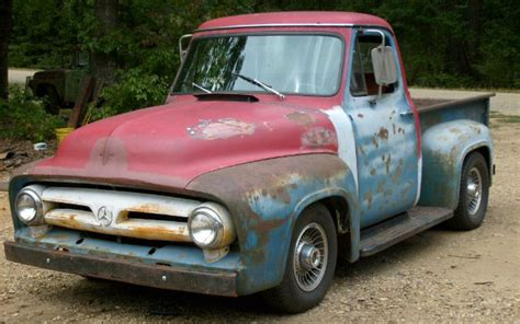 you truck truck you a 1953 ford f 100 with some color ford trucks com