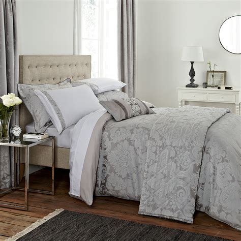 silver curtains and bedding barletta silver bedding by bedeck at bedeck home