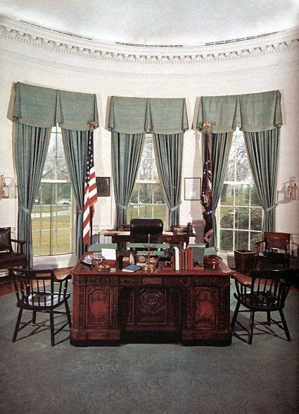 oval office decor history oval office jan 1961 nov 63 prior to redecoration by