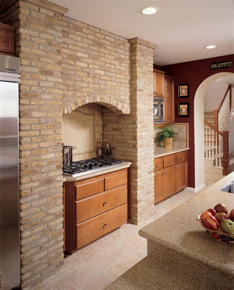 brick accent wall brick accent wall kitchen