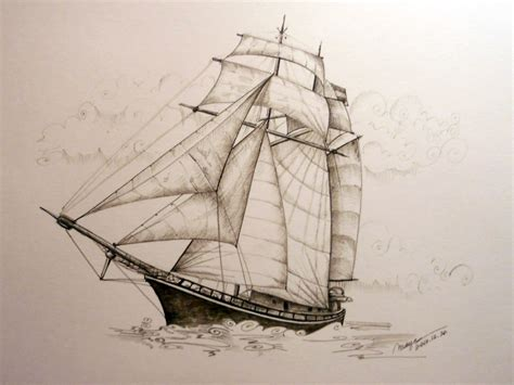 pirate ship a sketch for a how to pirate ship sketch 2 rohrer klinger sepia ink with founta flickr