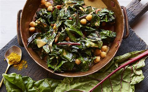 spiced indian greens and chickpeas life diy with ak experience life the whole life health and fitness magazine