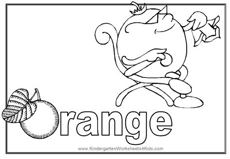 coloring pages color orange free coloring pages of orange color
