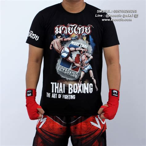 Elite Kaos jual kaos muay thai hanzo elite fight gear sms wa