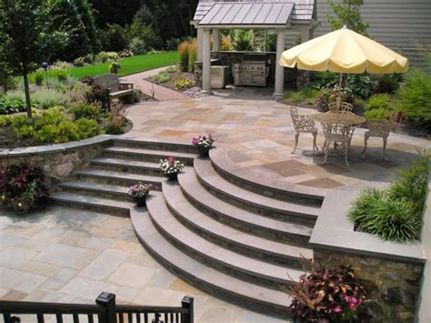 Patio Steps Design Brick Paver Patios Hgtv