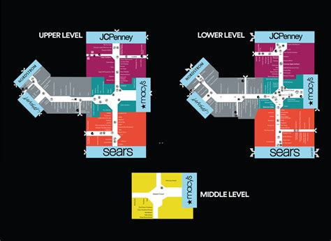 Woodfield Mall Gift Card - mall map of woodfield mall a simon mall schaumburg il