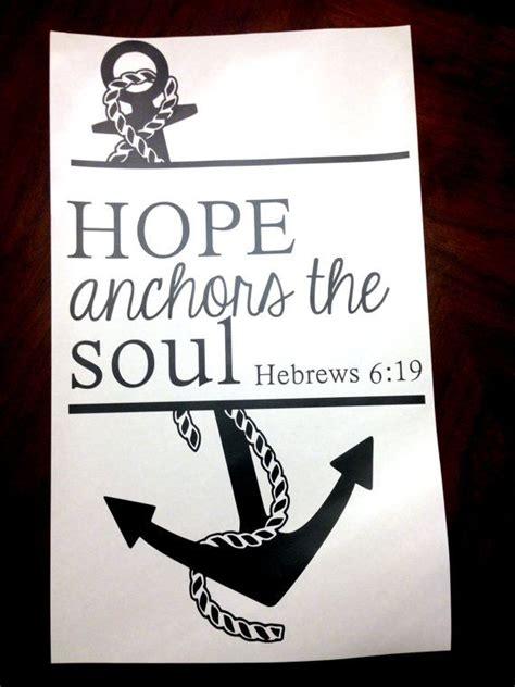 Love Anchors The Soul Hebrews - 17 best images about retreat on pinterest women s