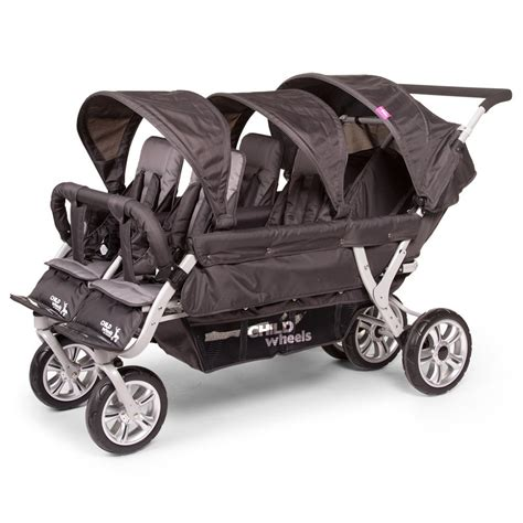 Poussette Electrique by Poussette Six Seater De Childwheels Une Poussette 224 Six Places