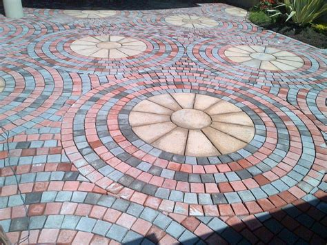 Circle Paving Tiles ? Pak Clay Tile Pakistan