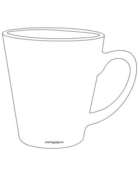 Printable Coffee Mug Template Arts Arts Coffee Mug Template