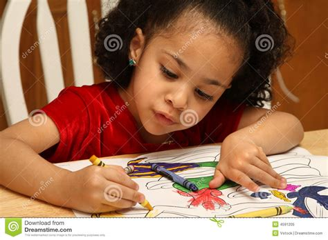 child color child coloring royalty free stock photo image 4591205