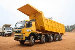 pics of trucks volvo fm480 10x4 dump truck launched in india