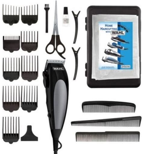 Pictures Of Haircuts With Trimmer Different Settings | wahl professional haircut trimmer 14 pc set pro barber