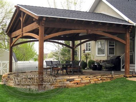 backyard covered decks 25 best ideas about covered patios on pinterest patio