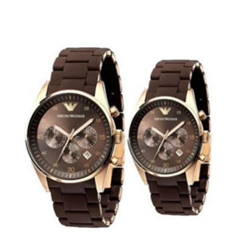 Kacamata Pria New Armani Sport Set Brown emporio armani ar5890 ar5891 armani his and hers watches set