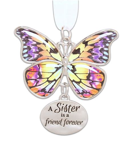 butterfly ornaments ganz home decor blissful journey
