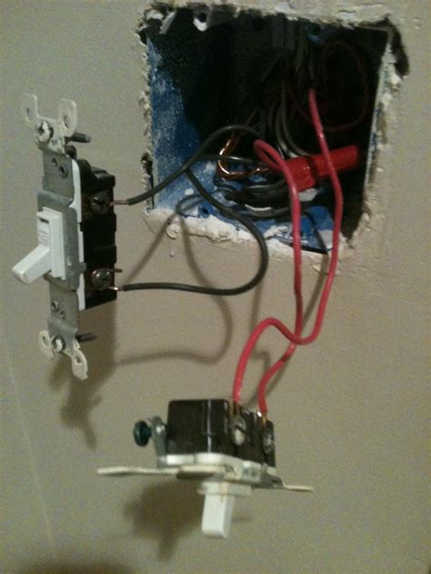 how to install fan light switch installed ceiling fan now light switch not working