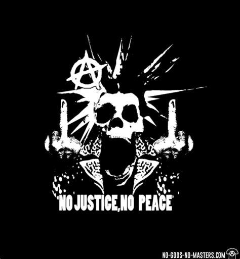 Kaos War Is Peace t shirt no justice no peace no gods no masters