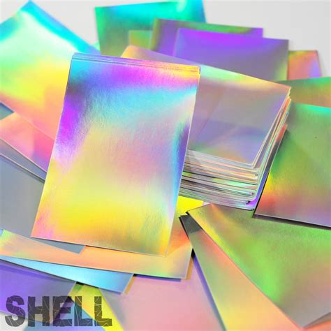 holographic eggshell blanks sive