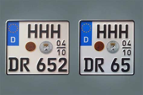 Motorrad Kenzeichen by Bundesrat Beschlie 223 T Kleinere Motorradkennzeichen 2ri De