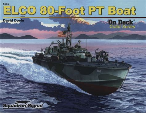 pt boat elco elco 80 pt boat on deck color series no 5 boat ship