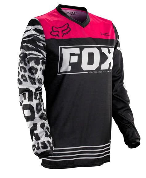 women s fox motocross 2014 fox racing womens hc 180 jersey black pink fox riders