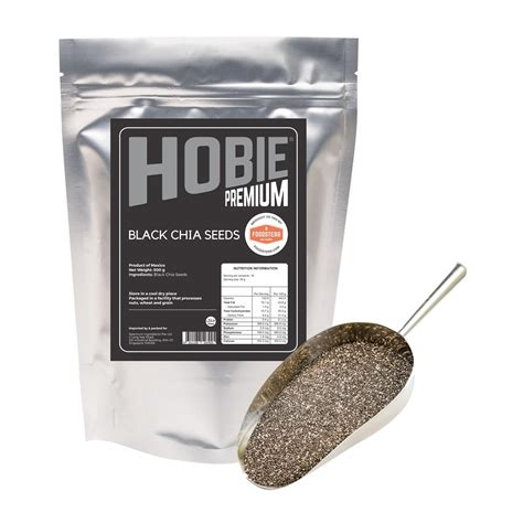 Black Chia Seed Chianie Product Of Mexico 500gr hobie black chia seeds 500g from redmart