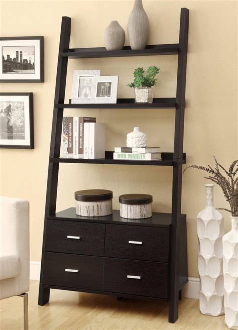 Leaning Ladder Bookcase 187 Best 22 Leaning Ladder Bookshelf And Bookcase Collection For Your Home Office